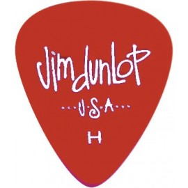 Jim Dunlop 486RHV Heavy Gels Red Guitar Pick