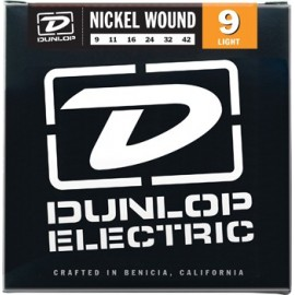 Dunlop DEN0942 Nickel Wound 09 - 42,  Light Electric Guitar Strings