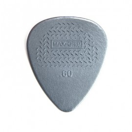 Jim Dunlop Nylon Standard Max-Grip Guitar Pick .60mm - Bag of 12