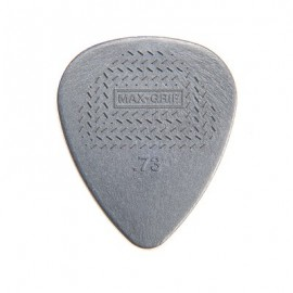Jim Dunlop Nylon Standard Max-Grip Guitar Pick .73mm - Bag of 12