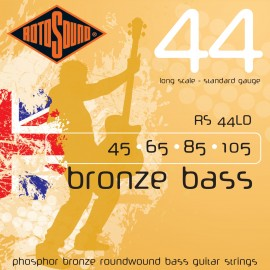 Rotosound RS 44LD Bronze Acoustic Bass 44, Standard, Long Scale, 45 - 105