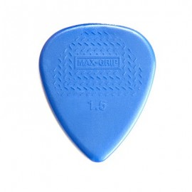 Jim Dunlop Nylon Standard Max-Grip Guitar Pick 1.5mm - Bag of 12