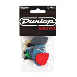 Jim Dunlop PVP102 Variety Players 12 Pack Medium/Heavy Guitar Picks