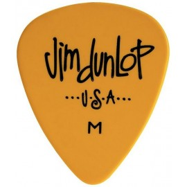 Jim Dunlop 479RMD Medium Yellow Poly Pick Guitar Pick