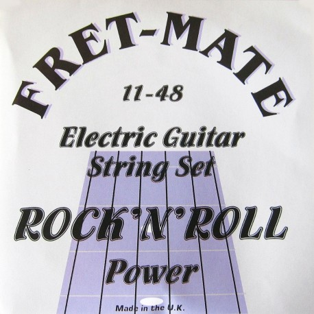 Fret-Mate 139944 Rock n' Roll Power Nickel Wound 11-48 Electric Guitar Strings