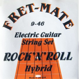 Fret-Mate 139934 Rock n' Roll Hybrid Nickel Wound 09-46 Electric Guitar Strings