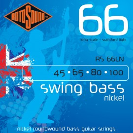 Rotosound RS66LN Swing Bass Nickel 66, Standard Light Gauge, Long Scale, 45 - 100