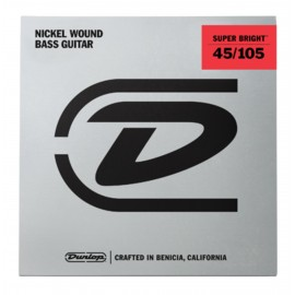 Dunlop Super Bright 45-105 Nickel Wound Bass Guitar Strings DBSBN45105