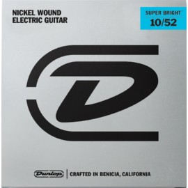 Dunlop DESBN Super Bright Nickel Wound 10-52 Medium Hybrid Electric Guitar Strings