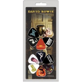 Perri's LP12-DB1 David Bowie Covers 12 Pack Assorted Designs Guitar Picks