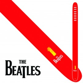 "Perri's P25TB6079 2.5"" Wide The Beatles NO1 Vinyl Guitar Strap"