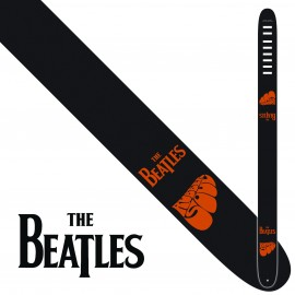 "Perri's P25TB6078 2.5"" Wide The Beatles RUBBER SOUL Vinyl Guitar Strap"