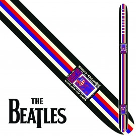 "Perri's P25TB6076 2.5"" Wide The Beatles CANDLESTICK PARK Vinyl Guitar Strap"