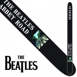 "Perri's P25TB6074 2.5"" Wide The Beatles ABBEY ROAD Vinyl Guitar Strap"