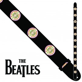 "Perri's LPCP6083 2"" Wide The Beatles SGT PEPPER Polyester Guitar Strap"