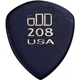 Jim Dunlop 477R208 Jazz Tones Guitar Pick. Grey LARGE POINT TIP