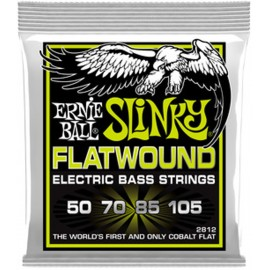 Ernie Ball 2812 'Cobalt Flatwound Regular Slinky' 50 - 105 Bass Guitar Strings
