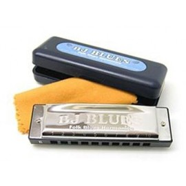 "BJ Blues Folk Blues Harmonica in the key of ""E"""
