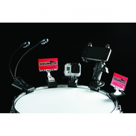 The DrumClip ACCESSORY ADAPTOR Clip for all your clip devices