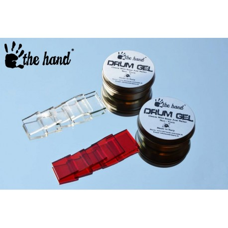 The Hand Drum Gel For Drums & Cymbals - CLEAR 6 Pieces
