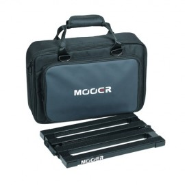 Mooer PB12 Stomp Plate MAXI Pedalboard with Carry Case