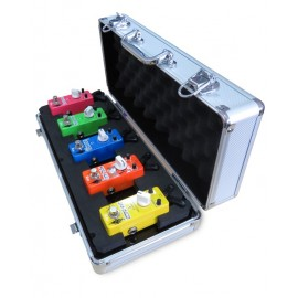 Xvive F1 Pedalboard Flightcase for 5 Micro Pedals