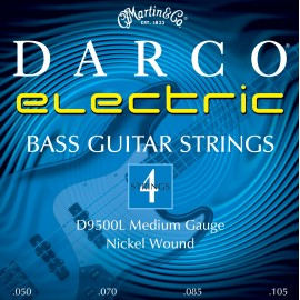 Martin D9500L Darco MEDIUM  50-105 Nickel Wound Bass Guitar Strings