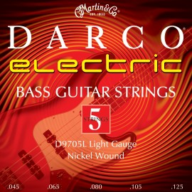 Darco by Martin 5 String 45-125 Light Nickel Bass Guitar Strings D9705