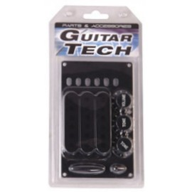 GT856 Guitar Tech Strat Style Accessory Pack - Black - Pack of 3