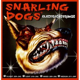 Snarling Dogs 10-46 Light Nickel Round Wound Electric Guitar Strings