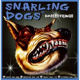 Snarling Dogs 5 String  45-130 Regular Nickel Round Wound Electric Bass Strings