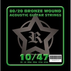 Rosetti AST10 80/20 Bronze Acoustic 10-47 Acoustic Guitar Strings