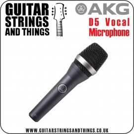 AKG D5 Professional Dynamic Lead Vocal Microphone (no switch)
