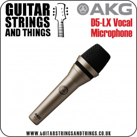 AKG D5-LX Professional Dynamic Lead Vocal Microphone (no switch) - Champagne Colour