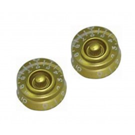 GT502 Guitar Tech SPEED KNOBS - Gold - Pack of 2