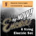 Encore Extra Light 09-42 Nickel Wound Electric Guitar Strings