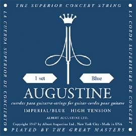 Augustine Imperial Blue '28.7 - 45' High Tension Classical Guitar Strings