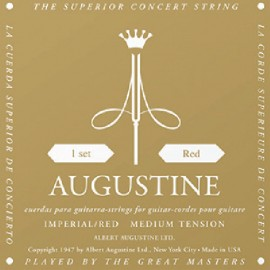 Augustine Imperial Red '28.7 - 42.5' Medium Tension Classical Guitar Strings