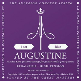 Augustine Regal Blue '29.5 - 45' High Tension Classical Guitar Strings