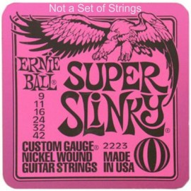 Ernie Ball Super Slinky Drinks Coaster