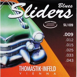 Thomastik-Infeld Blues Sliders 09-43 Nickel Electric Guitar Strings SL109