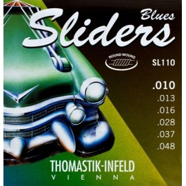Thomastik Blues Sliders 10-48 Nickel Electric Guitar Strings SL110
