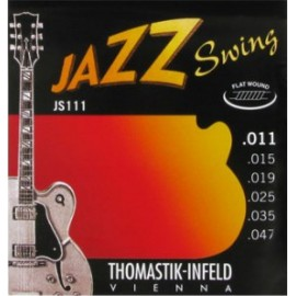 Thomastik JS111 Jazz Swing Flat wound 11-47 Electric Guitar Strings