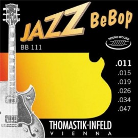 Thomastik BB111 Jazz BeBop Round wound 11-47 Electric Guitar Strings