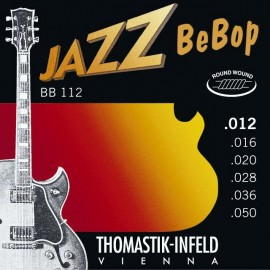 Thomastik BB112 Jazz BeBop Round wound 12-50 Electric Guitar Strings