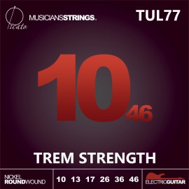 Picato 94108 TUL77 Trem Strength Nickel Roundwound 10 - 46 Ultra Light Electric Guitar Strings