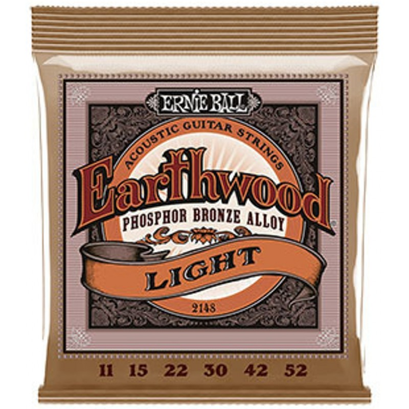 Ernie Ball Earthwood 11 52 Light Phosphor Bronze Acoustic