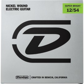 Dunlop DESBN1254 Super Bright Nickel Wound 12-54 Heavy Electric Guitar Strings