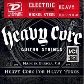 Dunlop DHCN1048 HEAVY CORE NPS 10-48 Heavy Guage Electric Guitar Strings