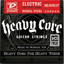 Dunlop DHCN1254 HEAVIEST CORE NPS 12-54 Heaviest Guage Electric Guitar Strings